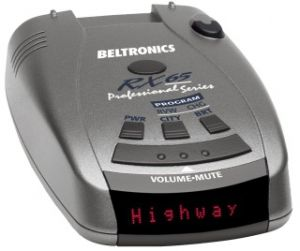 Beltronics RX65i red